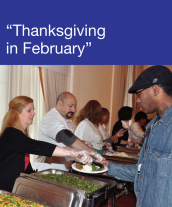 Community Events - Thanksgiving in February 2011