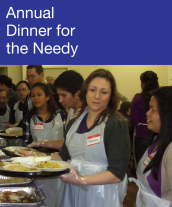 Community Events - Annual Dinner for the Needy