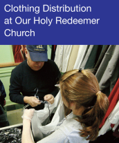 Community Events - Clothing Distribution at Our Holy Redeemer Church