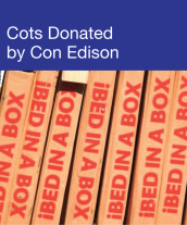 Community Events - Cots Donated By Con Edison