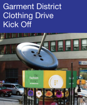 Community Events - Garment District Clothing Drive Kick-Off