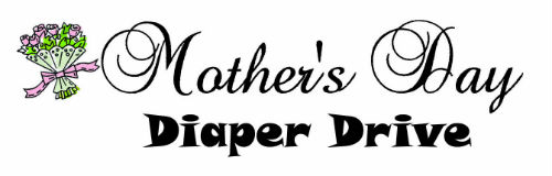 Mother's Day Diaper Drive logo